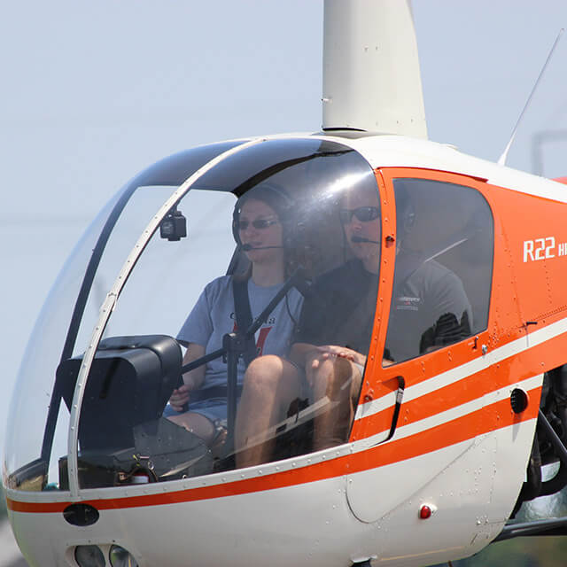 Accelerated Private Pilot Helicopter Course